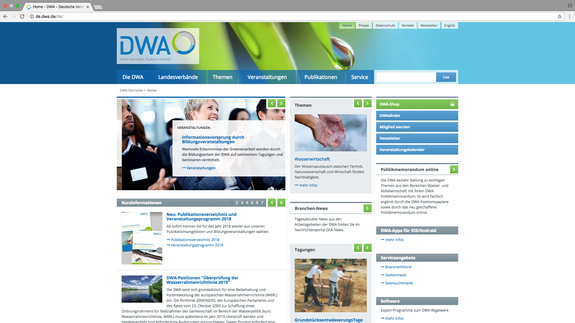 Website DWA
