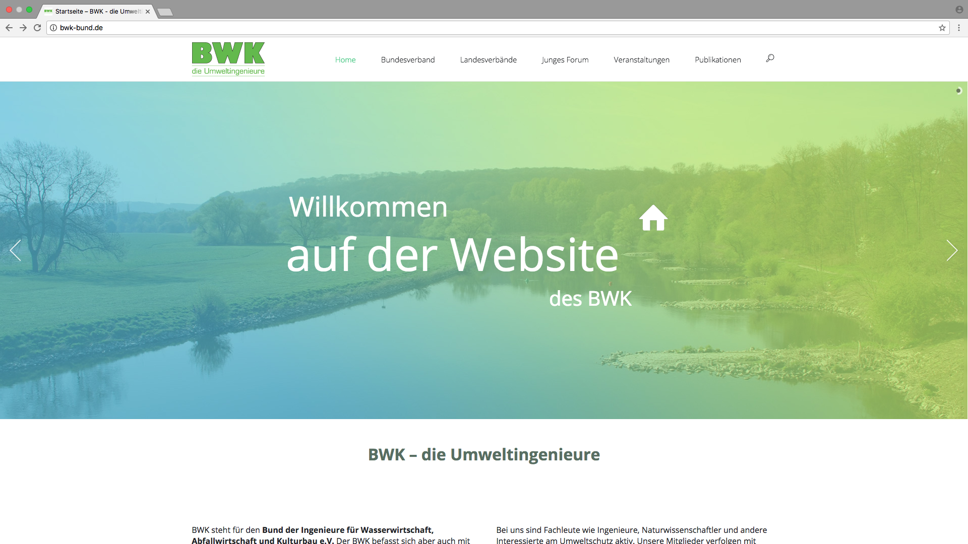 Website BWK e.V.